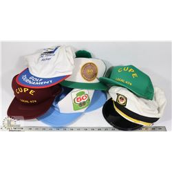 FLAT OF ASSORTED NOVELTY HATS