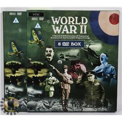 WORLD WAR II 8 DVD DOCUMENTARY BOX SET