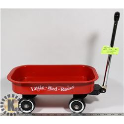LITTLE RED RACER MINI WAGON BBQ CONDIMENT HOLDER