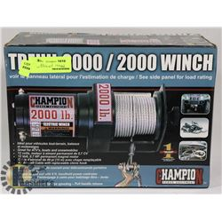NEW CHAMPION 2000 WINCH