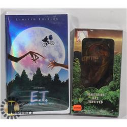 SET OF 2 VHS FACTORY SEALED E.T