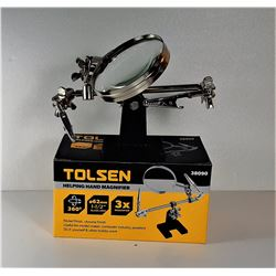 11)  TOLSEN HELPING HANDS MAGNIFIER