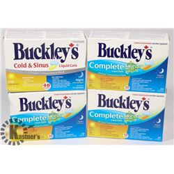 BAG OF BUCKLEY'S COLD MEDICINE