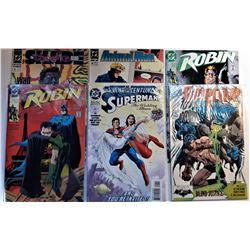 5)  LOT OF 6 VINTAGE DC COMICS INCLUDING