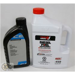 LOT OF 2  NEW- DIESEL FUEL SUPPLEMENT & AUTOMATIC