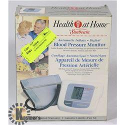 SUNBEAM BLOOD PRESSURE MONITOR
