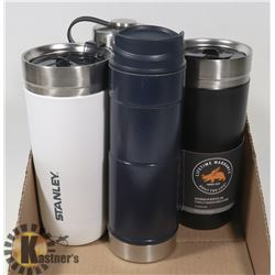 LOT OF 4 NEW  STANLEY THERMOS