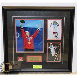 2010 PICTURE OF ALEXBILODEAU 1ST EVER OLYMPIC GOLD