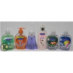 BAG OF ASSORTED HAND SOAP