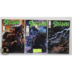 SPAWN FAN EDITION VARIANT ART COMICS ISSUES 1 - 3