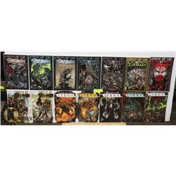 LOT OF 14 ASST. CURSE OF THE SPAWN COMICS
