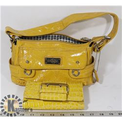D-FASHION HANDBAG WITH WALLET
