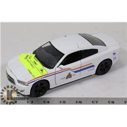 METAL POLICE VEHICLE