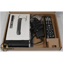 MOTOROLA CABLE BOX DCT 2000 WITH REMOTE