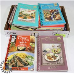 LOT OF COMPANY'S COMING COOKBOOKS