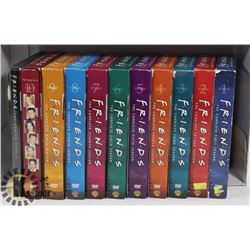 THE COMPLETE DVD COLLECTION OF FRIENDS - TV SERIES