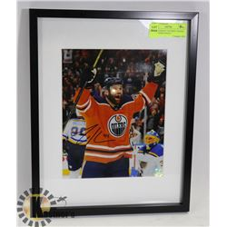 "ZACK KASSIAN ""I SCORED"" SIGNED AND FRAMED WITH C"