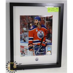 "ZACK KASSIAN ""FEAR THE CHOPS"" SIGNED &FRAMED WIT"