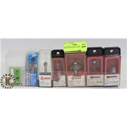 SELECTION OF ROUTER BITS