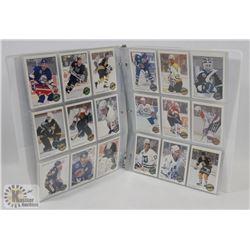 NHL OPEE CHEE 1992-93 PREMIER COMPLETE IN BINDER