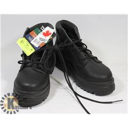 SIZE 6 STEEL TOES BOOTS