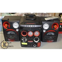 PHILLIPS STEREO SYSTEM CD ULTIMATE GAMING
