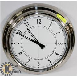 """18"""" DIAMETER WALL CLOCK"""