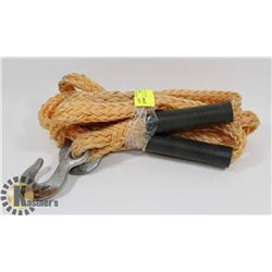 14' POLY DOUBLE BRAIDED TOW ROPE