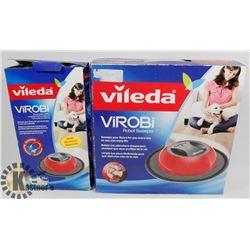 VILEDA VIROBI SWEEPER W/ REFILL PACK