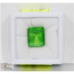 #48-GREEN TOPAZ GEMSTONE 16.5CT