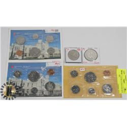 LOT OF 3 UNCIRCULATED COIN SETS 2- 1987,1985,