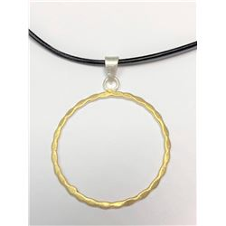 150) SILVER GOLD PLATED PENDANT NECKLACE