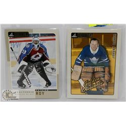 "JOHNNY BOWER 'GOLDEN ORIGINAL"" AND PATRICK ROY"