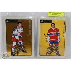 "MAURICE RICHARD AND ANDY BATHGATE ""GOLDEN"