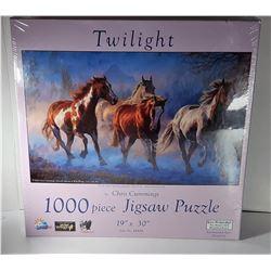 1)  1000 PCE PUZZLE OF CHRIS CUMMINGS