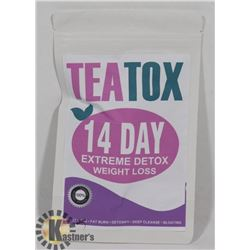NEW TEATOX 14 DAY EXTREME DETOX WEIGHT LOSS