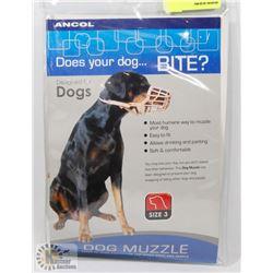 ANCOL DOG MUZZLE - SIZE 3
