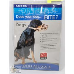 ANCOL DOG MUZZLE - SIZE 4