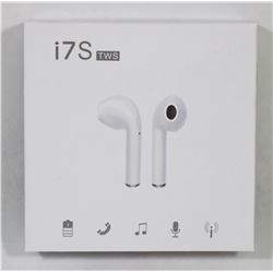 NEW BLACK WIRELESS BLUETOOTH EARBUDS W/CHARGER
