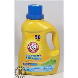 50 LOAD ARM & HAMMER COLDWATER DETERGENT