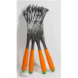 BUNDLE OF 4 HAND RAKES