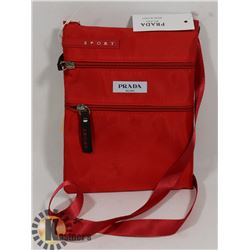 PRADA SPORT RED REPLICA HANDBAG