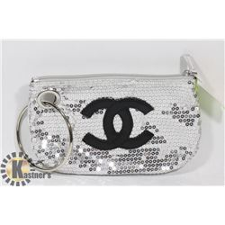 CHANEL REPLICA SILVER CLUTCH