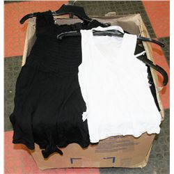 BOX OF ASSORTED WOMENS SHIRTS