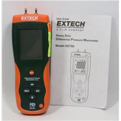 EXTECH HD750 MANOMETER