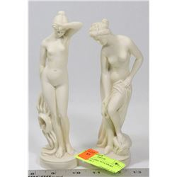 2 SANTINI CLASSIC SCULPTORS MADE IN ITALY.