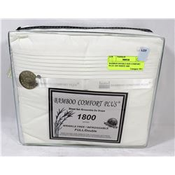 BAMBOO DOUBLE SIZE COMFORT PLUS  OFF-WHITE 1800