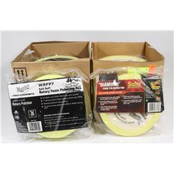 2 BOXES OF MEGUIARS DIAMOND FOAM POLISHING PADS