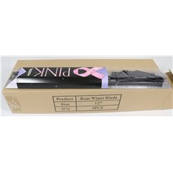 "BOX OF 12"" REAR WIPER BLADES"