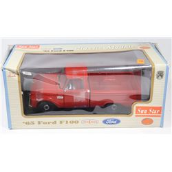 '65 FORD F100 DIECAST 1:18 SCALE